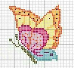 1 million+ Stunning Free Images to Use Anywhere Butterfly Cross Stitch, Mini Cross Stitch, Cross Stitch Animals, Cross Stitch Flowers, Cross Stitch Charts, Cross Stitch Designs, Cross Stitch Patterns, Cross Stitching, Cross Stitch Embroidery
