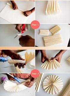 estudio matilda: DIY Rosetas que decoran!