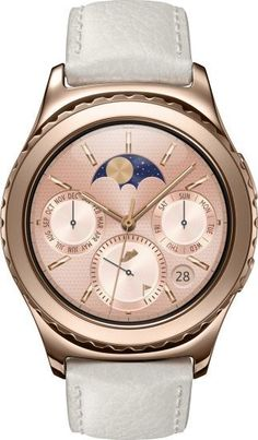 SAMSUNG Gear S2 Classic Rose Gold Smartwatch (White Strap) @ Rs.21900