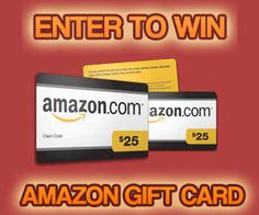 SEPTEMBER CONTEST: Win Amazon Gift Cards!