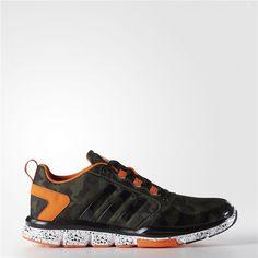 Adidas Speed Trainer 2.0 Camo Shoes (Base Green   Base Green   Orange)  Adidas 213d8abdd