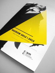 CCAM / scène nationale   Typefaces: Museo Slab, National