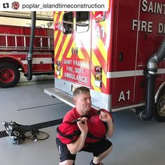 FIREFIGHTER FITNESS  #Repost @poplar_islandtimeconstruction  Daily morning workout at St. Francis Fire Department.     Want to be featured? Show us how you train hard and do work   Use #555fitness in your post. You can learn more about us and our charity by visiting WWW.555FITNESS.ORG  #fire #fitness #firefighter #firefighterfitness #firehouse #buildingastrongerbrotherhood #workout #ems #engine #truckie #firetruck #pastparallel #damstrong #charity #nonprofit #fullyinvolved #firefit…