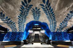 Vines on the Underground #stockholm