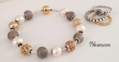 Pandora Essence with pearls.