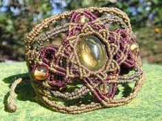 Bracelete de macrame R$120,00