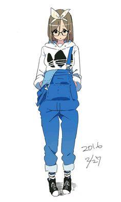 Art by Kuro* Chica Anime Manga, Anime Chibi, Manga Girl, Anime Art, Fanarts Anime, Anime Characters, Character Concept, Character Art, Posca Art