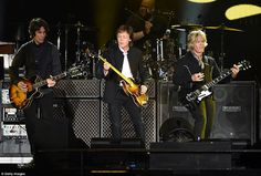 The legendary Beatles singer and his fans showed they still have what it takes as they danced the night away at the first-ever Desert Trip in Indio, California, on Saturday night.