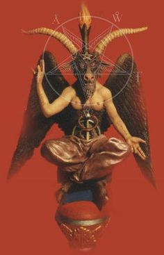 Baphomet - Anton LaVey describes this symbol as the powers of Darkness (which I think he equates with the concept of Satan) combined with the fertility of the goat, much like how the Black Ram combines the qualities of the ram (solar as well as fertility) with demonic and dangerous powers.