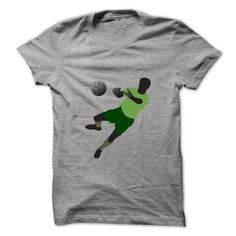 Cool Football player playing with ball T shirts