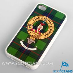 Shaw Clan Crest iPhone Cover