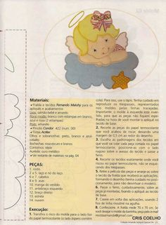 Apliques para bebes en patchwork