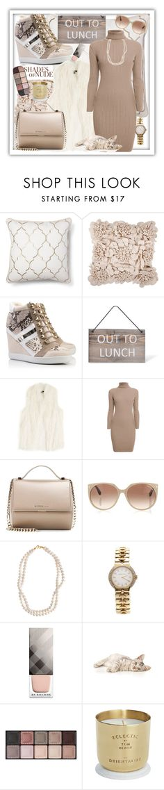 """Nude sneakers"" by b-a-hanen on Polyvore featuring Garden Trading, DKNY, Rumour London, Givenchy, Tom Ford, STELLA McCARTNEY, Tiffany & Co., Burberry, Christian Louboutin and By Terry"