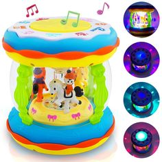 Babies and Toddlers Musical Drum Toys with Lights, Infants and Kids Musical and Educational Toys for 1 2 3 4 5 Year Old Boys and Girls Business Intelligence Tools, In Ancient Times, Educational Toys, Boy Or Girl, Musicals, Infants, Coding, Drum, Activities