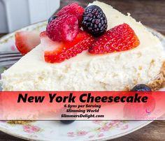Slimming World New York Cheesecake