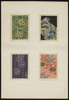 [Japanese designs from Ukiyoe prints (1860?) In the Mary Ann Beinecke Decorative Art Collection. Sterling and Francine Clark Art Institute Library. http://archive.org/stream/MAB.31962000726566Images_20130507/MAB.31962000726566_Images#page/n13/mode/2up