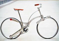 Hubless Sada Bike Can Be Folded to the Size of an Umbrella | Inhabitat - Sustainable Design Innovation, Eco Architecture, Green Building