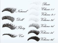 Eyelash Extensions Client Forms, Salon Forms, Printable