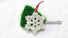 #코바늘 #눈꽃 #만들기 #crochet #snowflake #diy #handmade