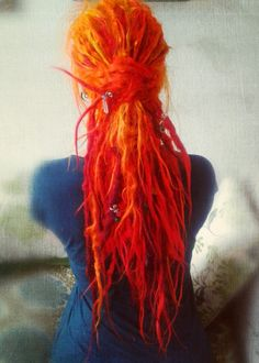 Orange dreads ^^