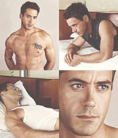 Robert Downey Jr. RDJ, oh God can he get any sexier