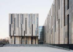 Nanjing Art Museum, China by KSP Jurgen Engel Architekten