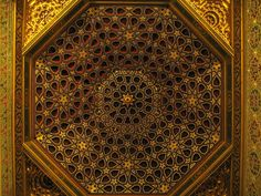 Palacio Mudejar ceiling - Real Alcazar, Seville | Flickr - Photo Sharing!