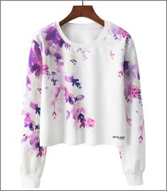 Autumn Women Hoodie Casual Long Sleeve Hooded Pullover Sweatshirts Planet Space Galaxy Crop Top Hoodies Sweatshirts Size S Color 01 Girls Fashion Clothes, Teen Fashion Outfits, Stylish Hoodies, Girls Crop Tops, Vetement Fashion, Looks Street Style, Printed Sweatshirts, Cute Casual Outfits, Stylish Dresses