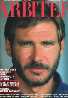 Harrison Ford circa early 1980s = devilishly handsome.
