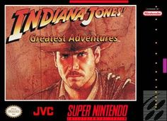 Grab your trusty whip and slash your way through all three Indy classics in this no-thrills-barred videogame adventure! If it happened in the movies, it happens in here… the giant boulder from Raiders of the Lost Ark, the mine cart chase from Temple of Doom, the Three Trials from The Last Crusade, Colonel Vogel… its three times the Indy, all on one blockbuster game pak.