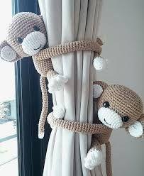 Resultado de imagen para colgantes artesanales para cortinas