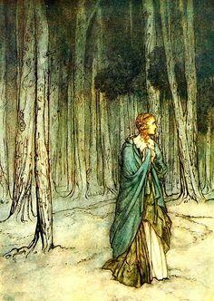 アーサー・ラッカム  無償のイラストレーション: ビンテージ, アーサー・ラッカム, ビクトリア朝, 古い, 古代 - Pixabayの無料画像 - 1722325