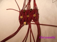 031 (Small) Macrame Tutorial, Macrame Bracelets, Petra, Style, Patterns, Thread Bracelets, Macrame Bracelet Tutorial, Embroidery, Tutorials