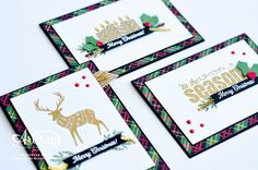 Merry Patterns - host a $300 party in September or October and you can earn this stamp set for free
