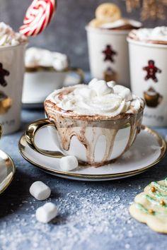 sugar cookie hot chocolate