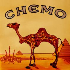 """Camel parody logo """"Chemo"""" - Lump Daaaaaaay…! All our graphics are uploaded to deviantART in high-rez. Check 'em out: http://penaltees.deviantart.com"""