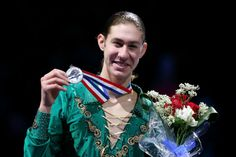Jason Brown wins silver at the 2014 US Figure Skating Championships.