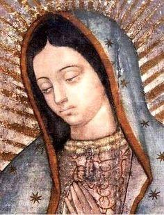 Los ojos de la Virgen de Guadalupe