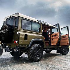 2015 Land Rover Defender 110 Wide Track Mileage 26,250 miles Fungus
