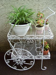 Flower Cart  Patio Furniture / Porch Furniture
