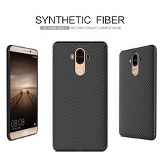 """For Huawei Mate 9 Case Original NILLKIN synthetic fiber mobile phone cases for Huawei Mate9 5.9"""" Ultra Thin Hard Back Cover"""