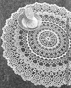 Crochetpedia: Doily patterns