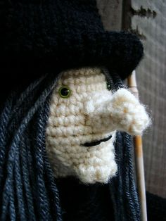 """Free pattern for """"Scara-Lee Witch"""" by Sally V. George!"""