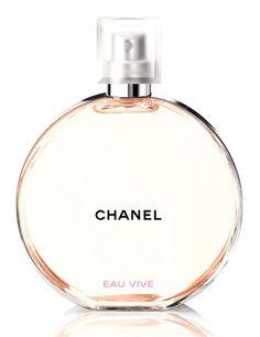 Les 10 parfums de l'été : Chance Eau Vive de Chanel http://www.vogue.fr/beaute/shopping/diaporama/les-10-parfums-de-lt/21295#velvet-mimosa-bloom-de-dolce-gabbana