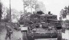 June 13, 1944: results of the battle of Villers-Bocage between Wittmann and British 4th County of London Yeomanry.