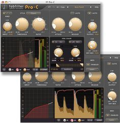 FabFilter Pro-C, one of the best compressors on the market.