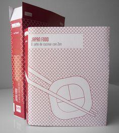 Diseño cubiertas y packaging: Libro de cocina japonesa 3