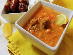 وصفه سهلة وشهية طريقة عمل الحريرة الجزائرية Thai Red Curry, Ethnic Recipes, Food, Essen, Meals, Yemek, Eten