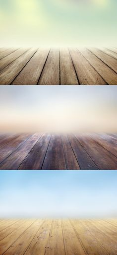 3 Infinite Wooden Floors Backgrounds