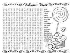 Free Printable Halloween Word Search Puzzles  Halloween Puzzle